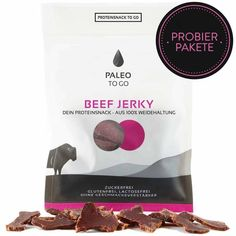 Protein Snacks, Paleo, To Go, Beef Jerky, Irish, The Originals, Food, No Sugar, Glutenfree