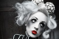Iphigeni E II by Silent View (Silent Order) - Fashion Photography - Dolls - Marionettes - Puppets - Halloween concept ideas