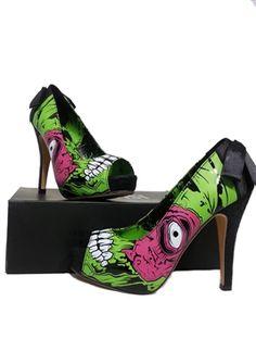 Iron Fist Zombie Stomper Platform Shoes