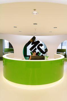 Inside MEC's Colorful Sydney Offices, Australia. MEC is a global media agency