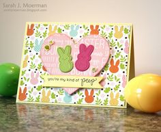 My Impressions: Simon Says Stamp Favorite Peep Card with Card Kit Giveaway (& and Blog Hop Winner)