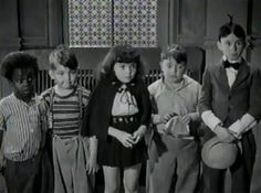 1939 - TINY TROUBLES' Alfalfa can't get his baby brother (last seen as twins in Roamin' Holiday) to stop crying, so he trades him in on a quieter infant which turns out to be Light-Fingered Lester, a midget who masquerades as an infant to pick pockets  Buckwheat, Porky, Darla, Spanky, Alfalfa