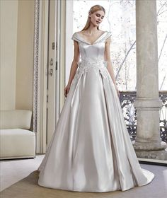 St Patrick is one of the many bridal designers we showcase in our boutique. Please visit our bridal boutique Mirror Mirror in London to view full collection. San Patrick, Bridal Gowns, Wedding Dresses, Wedding Outfits, Princess Wedding, Bridal Boutique, Dress Collection, Wedding Styles, One Shoulder Wedding Dress