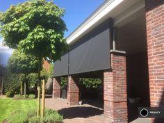 Zonnescherm verticaal uitrolbaar 2 Garage Doors, Outdoor Decor, Home Decor, Gardens, Patio Shade, Lawn And Garden, Decoration Home, Room Decor, Home Interior Design