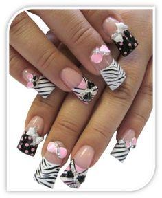 nail art design crystal metal bow rhinestones