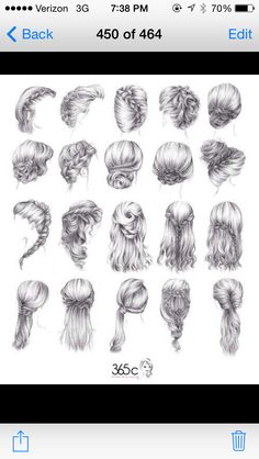 Chart for hair