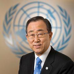 Ban Ki Moon – oitavo e atual Secretário Geral da ONU