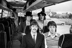 The Beatles, During The Filming Of Magical Mystery Tour,1967