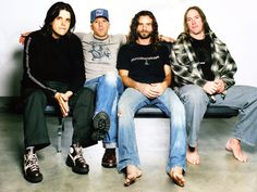 Tool- I mean, really, just look at 'em.....