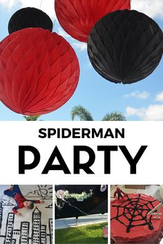 A simple Spiderman themed party with fantastic kid approved games - Calm to Conniption