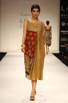 Kalamkari in its Indo Western Avatar ! the art of hand painting keeps up with changing times