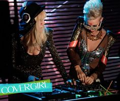 Behind-the-scenes at NERVO's first COVERGIRL photo shoot.