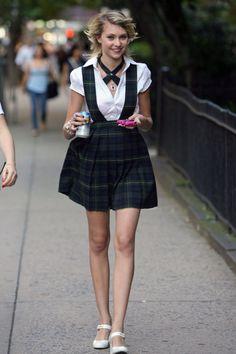 Cute school uniform