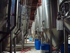 DSC01374 (Fermenters at Four Peaks) by KMImage, via Flickr