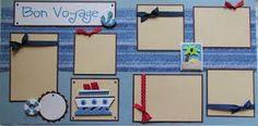 cruise scrapbook layouts ideas - Google Search