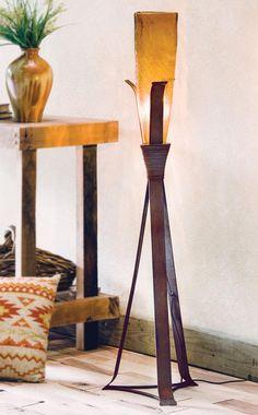 Western Floor Lamp Rustic