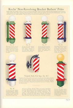 1929 Kochs' Barber Shop & Beauty Shop Fixtures, Catalog No. 40