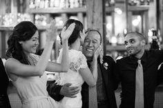 Archeo Distillery District Toronto wedding photography by Tara McMullen, Sweet Woodruff Florals