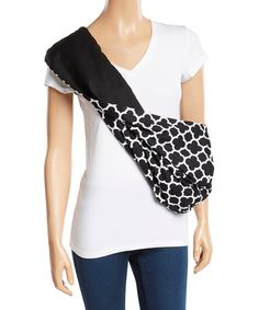 Another great find on #zulily! City Black Reversible Pet Sling #zulilyfinds