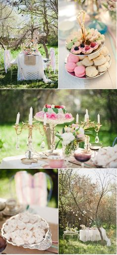 I want a tea party like this :)