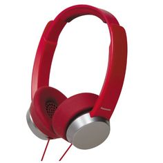 2e2217ad4ef Panasonic RP-HXD3W-R Street Style Monitor Headphones, Red/Silver  (Discontinued by Manufacturer) For Sale