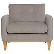 Buy Content By Terence Conran Ashwell Armchair, Light Leg Online at johnlewis.com