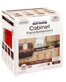 OMG! Paint those tired looking kitchen cabinets withOUT sanding...this just made my day!   Cabinet Transformations® is an innovative coating system that completely changes the look of old, worn cabinets into the look of beautiful hand-crafted cabinetry, at a fraction of the cost of installing new. There's no stripping, sanding or priming, super easy to do