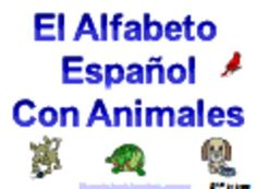 Add color to your classroom with these 33 Spanish Animals Alphabet signs!  Each sign has a letter, animal picture and the Spanish animal word.  All...