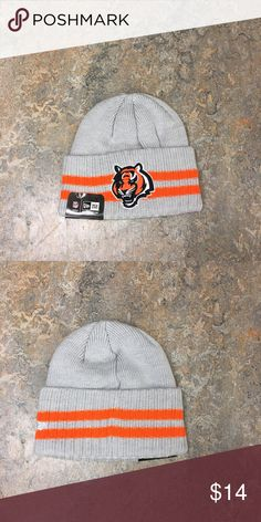 47e2ec45e Cincinnati Bengals New Era Logo Beanie Hat Cincinnati Bengals New Era Stripe  Logo Beanie Cap. Save money by bundling with other items in my store.