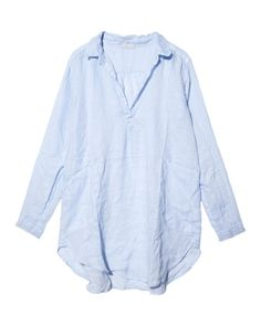 Flowy shirt dress with huge proportions.  I would wear as a tunic or a dress.