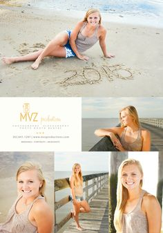 mvzproductions.com Delaware Beach Senior Photographer. Lewes Beach, DE Senior Beach Style. Senior pictures on the beach.