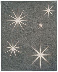 Quilt of Stars: Sparkler Quilt via Funquilts