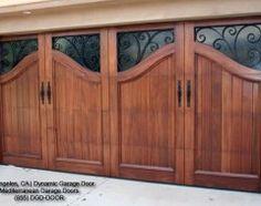 Mediterranean Garage And Shed By Dynamic Door Fancy Doors Custom Garages