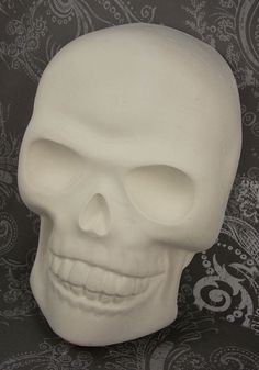 Paint It Yourself Skull Wall Hanging by pzcreations22 on Etsy, $8.75