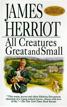 """All Creatures Great and Small - """"A very funny and super heartwarming book! You really fall in love with the people and the animals. This is a memoir of James Herriot and follows him as a country vet. If you want a great, heartfelt read, this is the one for you!"""" M.D. of Shoes Central"""