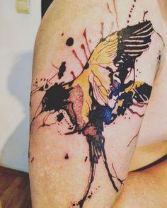 Abstract bird tattoo                                                       …