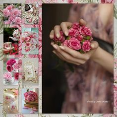 A hand full of roses.....by Silvia Hokke