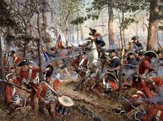 """""""The Battle of Cowpens, January 17, 1781"""" by Don Troiani"""
