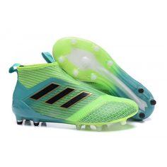 4e48f2031b74f 2017 Adidas ACE 17+ Purecontrol FG Dragon Botas De Futbol Baratas Verde  Botas De Fútbol