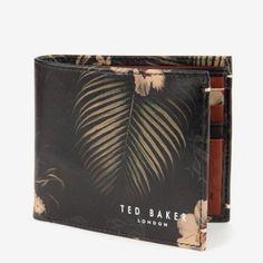 HEATUPボタニカル柄二つ折財布 テッドベーカー  TED BAKER オンライン通販【テッドベーカースタイル】