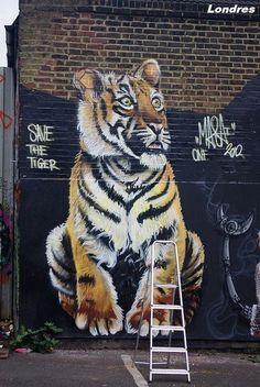 Peintures sur façade - Londres