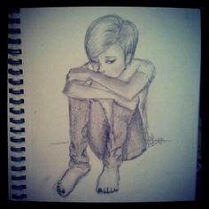 Sad drawing?