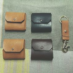 Leather Coin Pouch by Romac Brothers Co. https://www.facebook.com/romacbrothersco