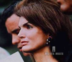 Jackie Onassis, at a memorial mass for Robert Kennedy, in Arlington National Cemetery, June 6, 1969.
