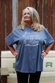 BAND OF GYPSIES T-SHIRTCute, cute, cute is what you'll be in our Band of Gypsies t-shirt!  Look at our Silver Brand shorts and capris for a fit and feel that is sure to please!