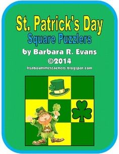 Perfect for fast finishers; excellent for enrichment.  $  #St.Patrick'sDay #enrichment #GATE #enrichment #differentiation #HOTS #problemsolving #criticalthinking #BarbEvans #itsabouttimeteachers