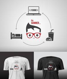 Programmers Tshirt design on Behance