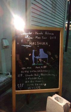 今日行ったシュローダーヘッズのライヴ凄く良かった! 物販に渡辺シュンスケさんが出て来てて、サインと握手を✨