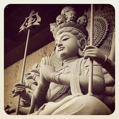 #taiwan 緣道觀音廟 千手千眼觀世音菩薩
