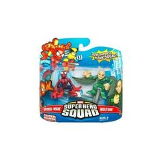 Marvel Superhero Squad Series 15 Mini 3 Inch Figure 2Pack SpiderMan and Vulture *** Click image for more details.